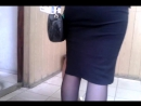 Legs in pantyhoses