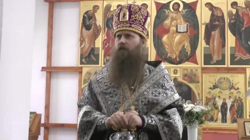 Слово на вечерне с изнесением Святой Плащаницы. г. Колпашево 18.04.2014 г.