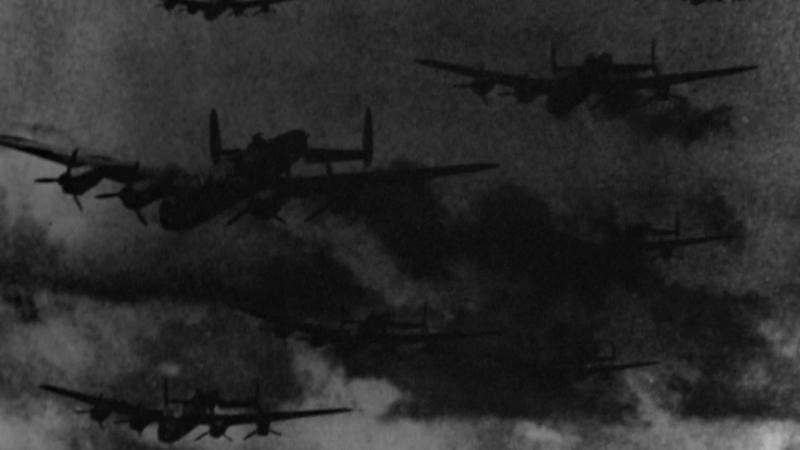 Мир в войне. 12 серия «Буря: Бомбардировки Германии - Сентябрь 1939-Апрель 1944» (1973-1974)
