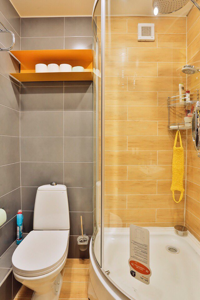 Квартира-Студия в Санкт-Петербурге 26 метров с присоединённой лоджией-спальней (3 кв метра).