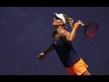 2017 BNP Paribas Open Third Round  Angelique Kerber vs Pauline Parmentier  WTA Highlights