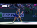 2017 BNP Paribas Open First Round | Andrea Petkovic vs Vania King | WTA Highlights