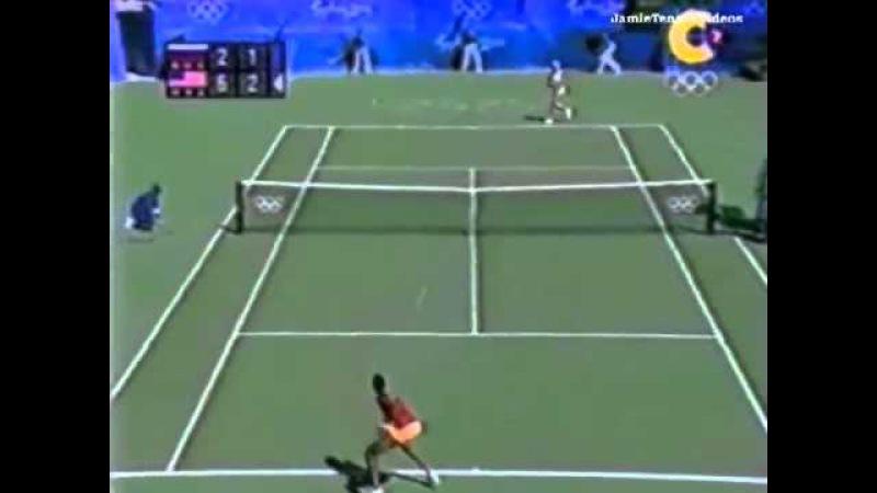 Venus Williams vs Elena Dementieva 2000 Olympics Highlights