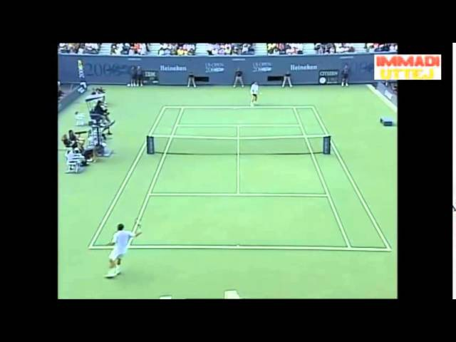 US Open 2000 Final Marat Safin Beats Pete Sampras