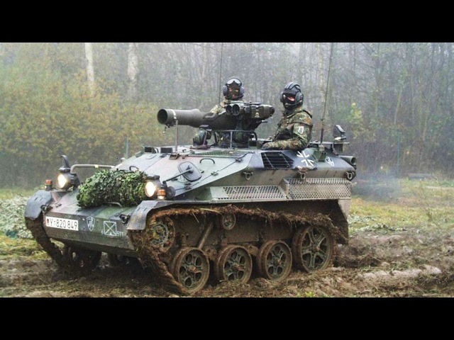 German Wiesel: Cute Mini-Tank - Small But Extremely Fast and Powerful
