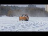 Запорожец, ЗАЗ 968 (ZAZ) или наш Жужик в зимнем дрифте