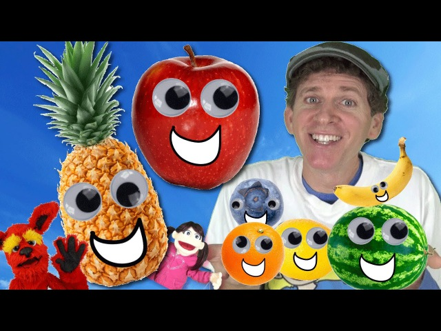 Pineapple Apple Yummy Food Song for Kids   Plus Learn 12 Fruit in Fruit Song   Learn English Kids