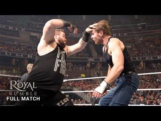 #My1 FULL MATCH  Ambrose vs. Owens - Last Man Standing Intercontinental Title Match: Royal Rumble 2016