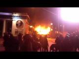Улица Грушевского. 19 января 2014 года. Автобус