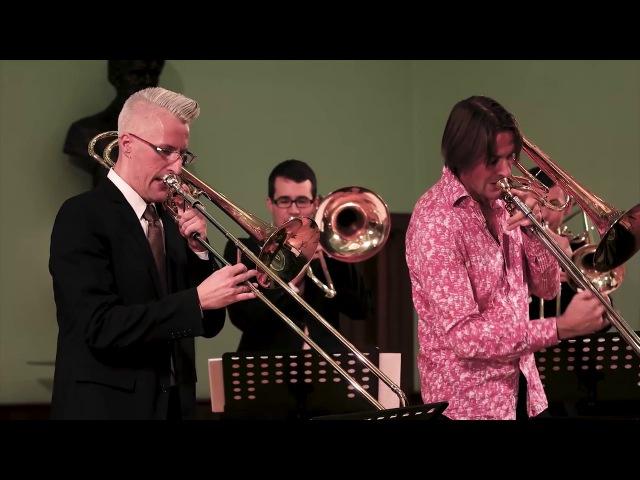 Eric Ewazen A Duet for Our Time - György Gyivicsan, Brandt Attema Szeged Trombone Ensemble