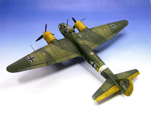 Junkers Ju-88 A-4 Revell 1/72 WW2 Aircraft Model - Part 2