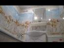 Отделка стен в ванной за 1 день пластиковыми панелями Недорогой ремонт в ванной своими руками