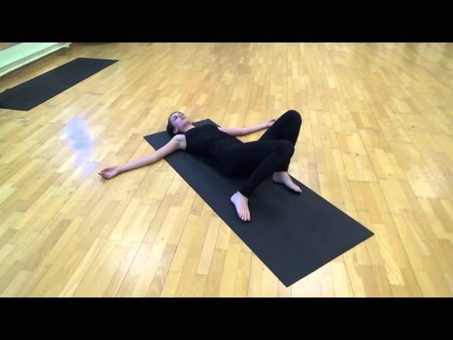 Йогатерапия позвоночника Урок 1 Комплекс упражнений Крокодил