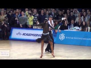 Andrey Gusev & Ekaterina Nikolaeva   Final Samba   Russian Dancesport Championship Latin 2014