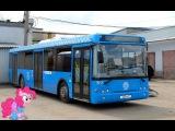 Поездка на автобусе ЛиАЗ-5292.65 Т 652 РР 777 Маршрут № 244 Москва