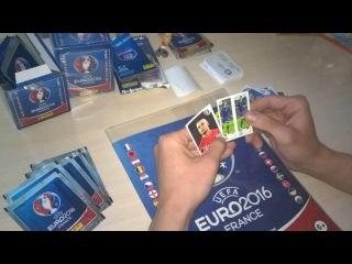 Panini EURO 2016 stickers 4 | ITALIA 90 stickers