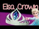 DIY Elsa Crown - Abbe Crafts
