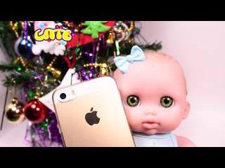 Куклы пупсики Распаковка Мегасоска Киндер сюрпризы Игра в дочки матери Видео д...