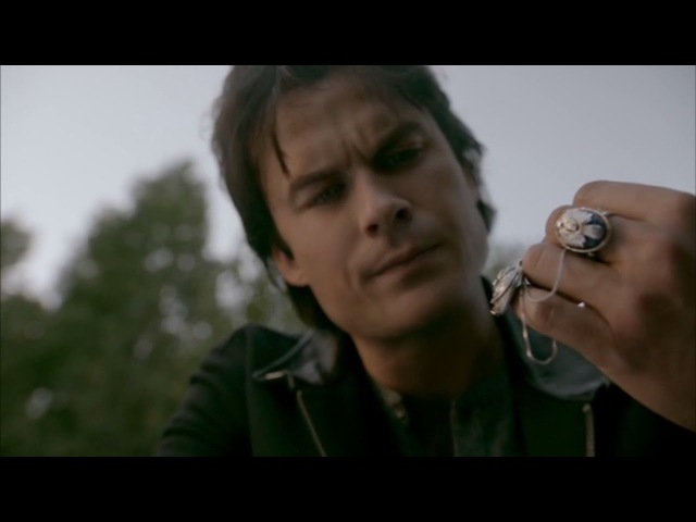 The Vampire Diaries: 8x08 - Damon finds Elena's necklace, Stefan the ripper's back [HD]