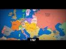 Изменение границ Европы за последнее тысячелетие. Интерактивная карта стран.