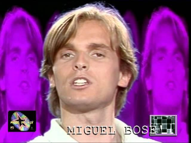 Miguel Bose- bravi ragazzi