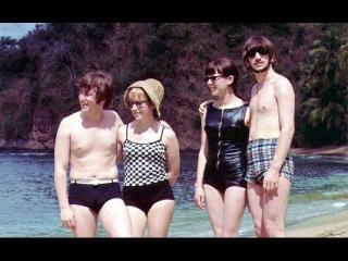 Фото - Джон Леннон и Ринго Старр с жёнами на отдыхе в Тринидаде 1966 г.