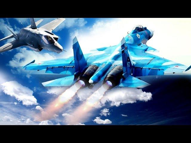 Су-35 vs F-35. Дядя избивает дубинкой ребенка