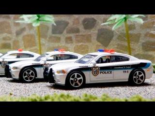 Polis Arabası ve Yarış Arabası - Eğitici Çizgi Film - Türkçe İzle - Akıllı Arabalar
