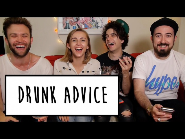 DRUNK ADVICE WITH THE MIDNIGHT BEAST | Hannah Witton