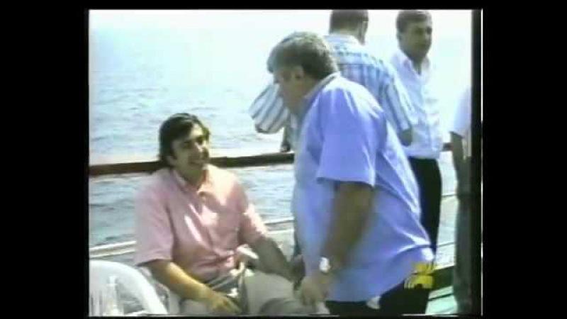 Политические и музыкальные клипы, под кодовым названием - '' Fuss '' 1997 Саакашвили Барамидзе Зоделава Жвания