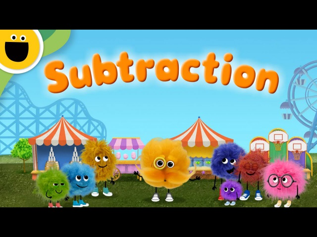 Subtraction | Words with Puffballs (Sesame Studios)