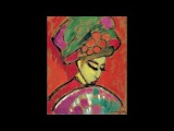 Alexej von Jawlensky, Young Girl in a Flowered Hat