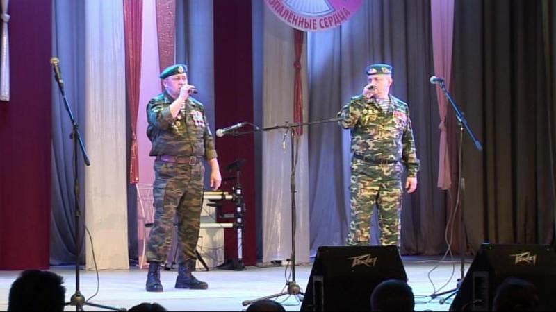 Братья Швецовы. ВДВ. с песней Воспоминание о прыжке 10.12.2016 г. Новоуральск