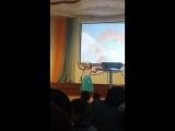 ,,Лягушачья ламбада исполняет Жетиру Замира