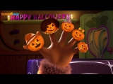 Finger Family Halloween Song _ Five Little Pumpkins _ Halloween Song for Kids from Dave and Ava