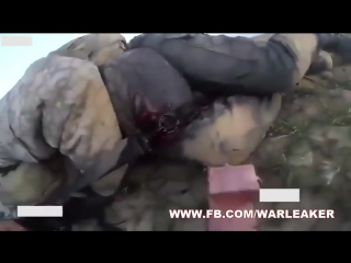 Fleeing ISIS Fighter Gets Shot In The Back While His Need For Help Being Ignored By His Comrade