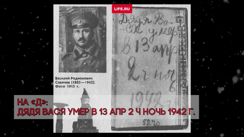 Таня Савичева написала самый страшный дневник Великой Отечественной Войны