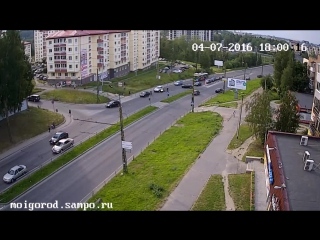 ДТП мото в Петрозаводске.