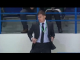 Arena Security shows off his dancing skills at Amur game