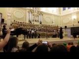 М. Глинка Славься, исп. сводный хор ДШИ им. М. И. Глинки