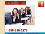 Facebook Help official Page to Flush Away your Facebook problem 1-888-830-5278