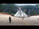 Гигантский стеклянный мост