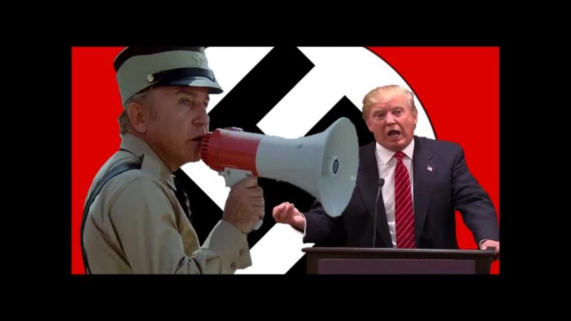 Trump the Neo Nazi White Supremacist Fascist 2