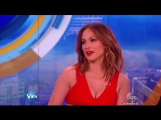 JLO - Chats American Idol  Shades Of Blue (Name That Dance The View 2016)