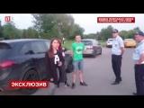 Неадекватный водитель Порше устроил гонки с полицией в Москве