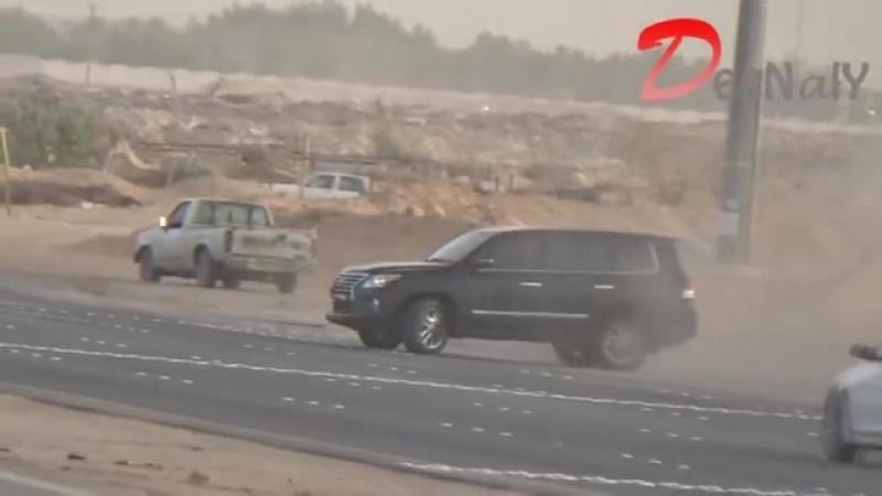 Мына араб қып-қызыл жынды екен Lexus LX 570