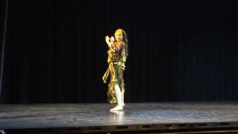 Задорный саиди Екатерины Лисенковой в моем исполнении на III Фестивале Layali Raks. 2 место