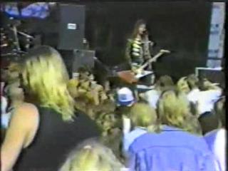 RUNNING WILD - Giants of Rock Festival, Hameenlinna 28.07.1990