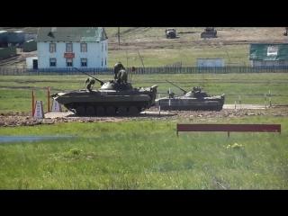 Танковый Биатлон на БМП 2