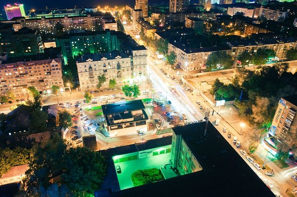 Пересечение улиц Полевой и Ново-Садовой